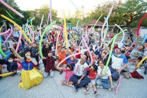 「魔法音樂歡樂劇-小智寶可夢之旅」活動,24日在竹縣竹北市兒八公園歡樂登場